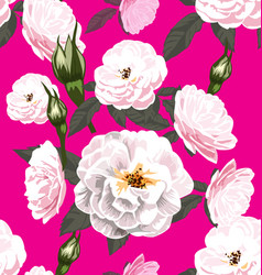 rose seamless pattern5 vector image