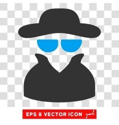 Spy Eps Icon vector