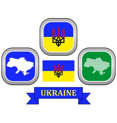 symbol of UKRAINE vector image