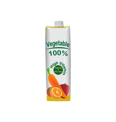 Vegetable juice vector
