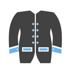 mens jacket icon vector image