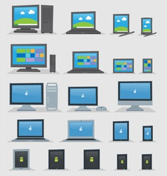 OS Devices vector image vector image
