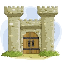 fortress vector image vector image