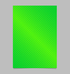 Geometrical abstract halftone dot pattern vector