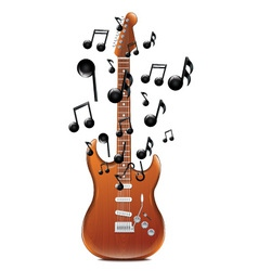 Guitar With Melody2 vector