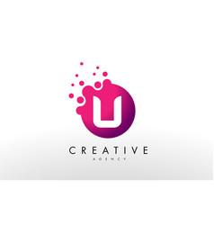 Letter u logo u letter design vector