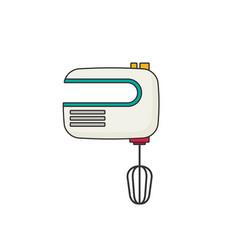 Mixer flat vector