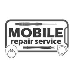 Mobile repair service 5 vector