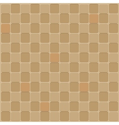 Mosaic seamless background in brown tone vector image