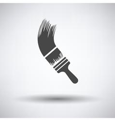 Paint brush icon vector