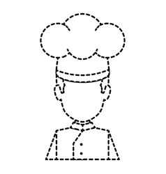 professional chef avatar character vector image