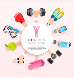 Set of exercises conceptual design vector