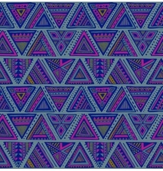 Seamless pattern with colorful hand drawn vector