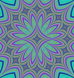 Abstract fractal kaleidoscope design background vector image