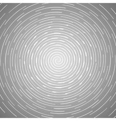 Abstract spiral design pattern circular rotating vector