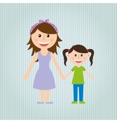family love design vector image