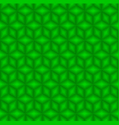 green cubes pattern seamless background vector image