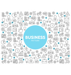 linear business pattern vector image