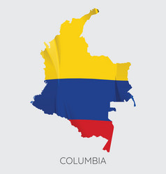 Map columbia vector