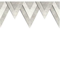 Metallic paper border background vector