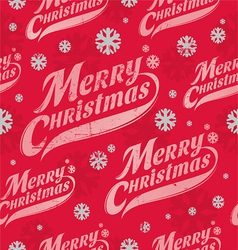 Seamless background - Christmas wrapping paper vector image