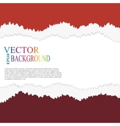 Torn paper layered vector