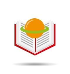 concept school book science vector image vector image