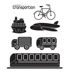 Transportion vector image