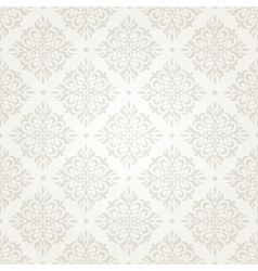 silver vintage wallpaper vector image vector image