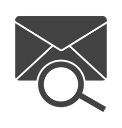 Find Mail vector image vector image