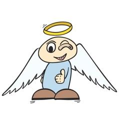 ok angel vector image vector image