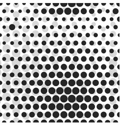 abstract dotted halftone background monocrome vector image