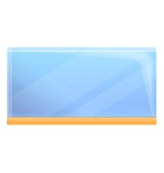 aquarium icon cartoon style vector image