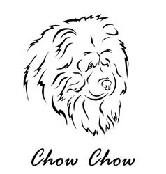 Chow Chow vector