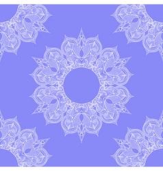 Entangle stylized round indian arabic mandala vector