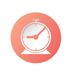 Icon design clock for setting a time include vector