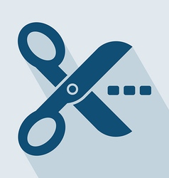 Scissors Icon vector image