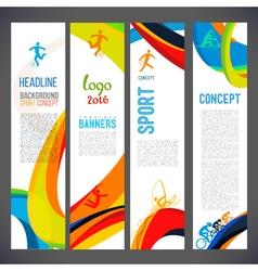 Template design Brochure vector