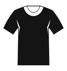 Tshirt icon simple style vector