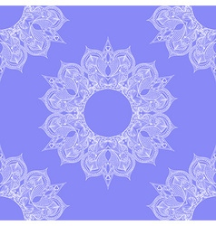 Zentangle stylized Round Indian Arabic Mandala vector