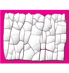 cracked background vector image