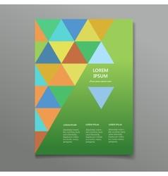 business flyer brochure template vector image vector image