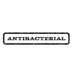 Antibacterial watermark stamp vector