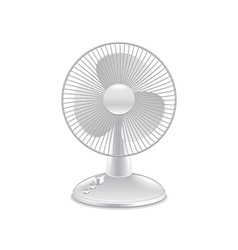 Fan isolated on white vector