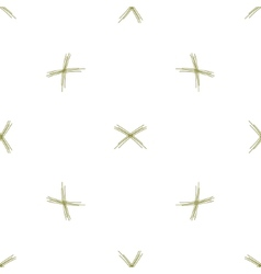 Seamless background two small bundles of vector
