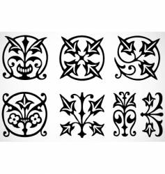 Tribal ornaments vector