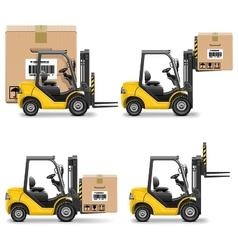 Shipment Icons Set 20 vector image