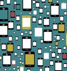 Smartphone background vector image