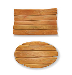 wooden old board vector image vector image