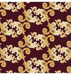 Royal ornament element pattern vector